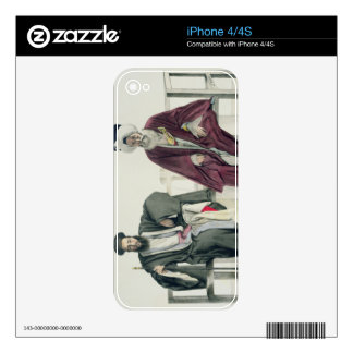 A Greek Priest and a Turk, engraved by the Thierry iPhone 4 Skins