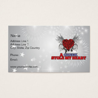 A Greek Stole my Heart Business Card
