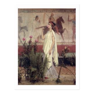 A Greek Woman, 1869 (oil on canvas) Postcard