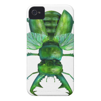 A Green Stag Beetle Case-Mate iPhone 4 Cases