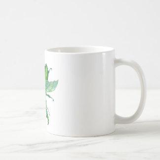 A Green Stag Beetle Coffee Mug