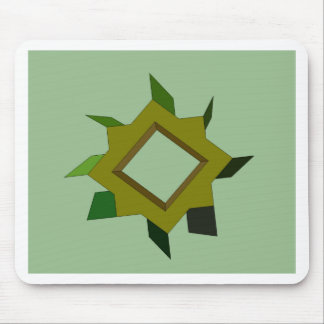 A Green Thing CricketDiane Art Design Mouse Pad