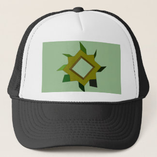A Green Thing CricketDiane Art & Design Trucker Hat