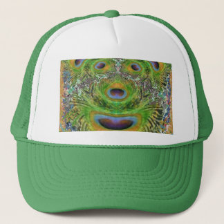 A GREEN Toothless Tiger in Zoo Trucker Hat