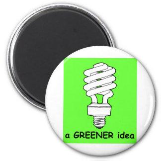 A Greener Idea Magnet