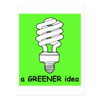 A Greener Idea Postcard