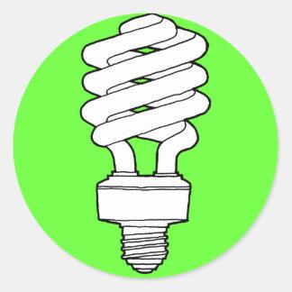 A Greener Idea Round Sticker
