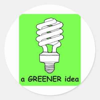 A Greener Idea Sticker