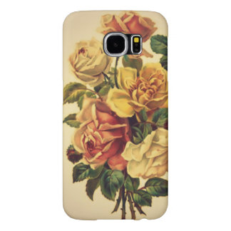 """"""" A Greeting From Yesterday"""" Floral CellPhone Case Samsung Galaxy S6 Cases"""