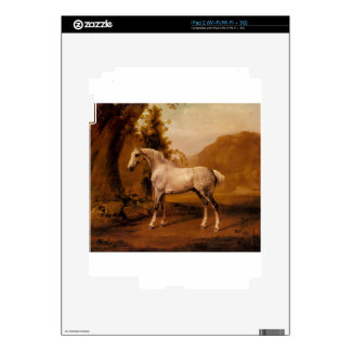 A Grey Stallion In A Landscape by George Stubbs Decal For iPad 2