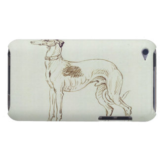 A Greyhound, Facing Left (pen & ink on paper) Barely There iPod Covers