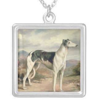 A Greyhound in a hilly landscape Custom Jewelry