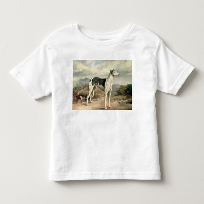 A Greyhound in a hilly landscape Toddler T-shirt