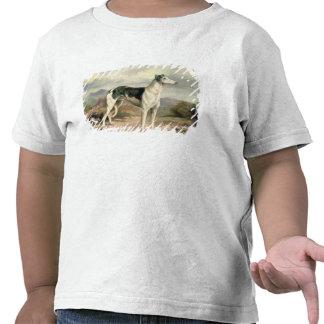A Greyhound in a hilly landscape Tshirts
