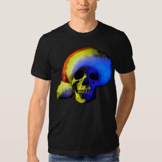 a Grim Santa Tee Shirt