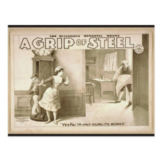 A Grip of Steel Postcard