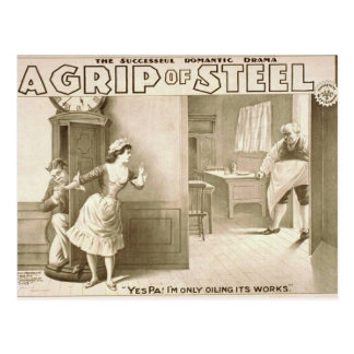 A Grip of Steel Postcards
