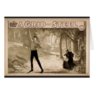 A Grip of Steel, 'Unforgiven, God Help me Now' Greeting Card