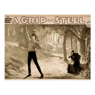 A Grip of Steel, 'Unforgiven, God Help me Now' Postcard