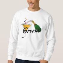 A Groom Champagne Toast Sweatshirt