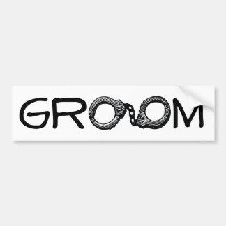 A Groom's Life Sentence Bumper Sticker