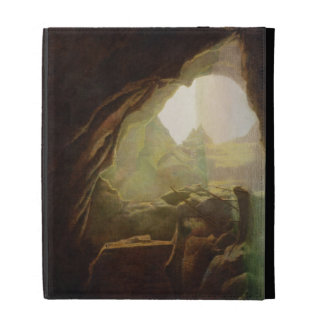 A Grotto in the Gulf of Salerno, Sunset, c.1780-1 iPad Cases
