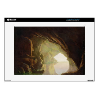 A Grotto in the Gulf of Salerno, Sunset, c.1780-1 Laptop Decal