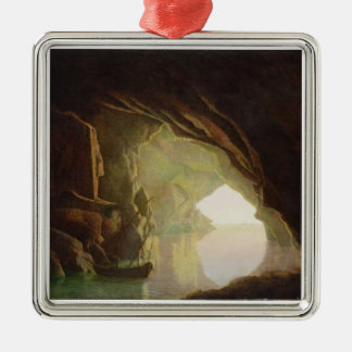 A Grotto in the Gulf of Salerno, Sunset, c.1780-1 Metal Ornament