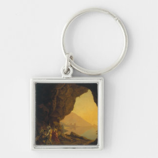 A Grotto in the Kingdom of Naples Keychain