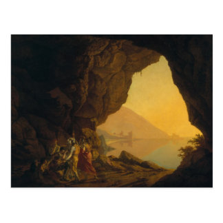 A Grotto in the Kingdom of Naples Postcard