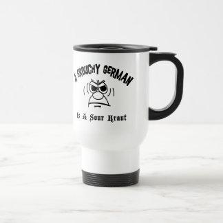 A Grouchy German Is A Sour Kraut Travel Mug