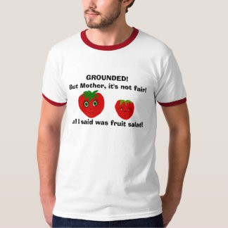 A Grounded Strawberry T-Shirt