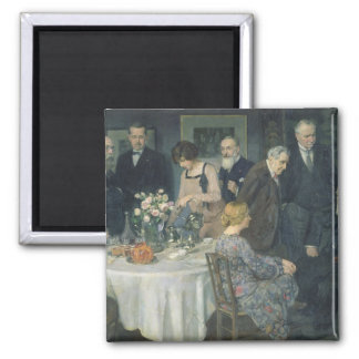 A Group of Artists, 1929 2 Inch Square Magnet