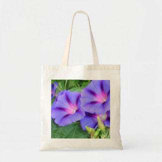 A Group of Beautiful Morning Glories Tote Bags