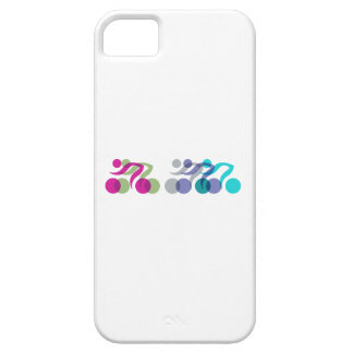 A group of riders iPhone SE/5/5s case
