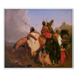 A Group of Sioux by Charles Deas 1845 Poster