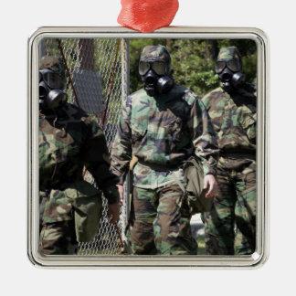 A group of Solar Challenge participants Metal Ornament