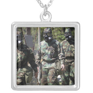 A group of Solar Challenge participants Silver Plated Necklace