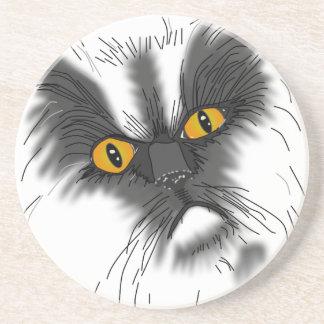 A Grumpy Cat Coaster