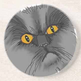 A Grumpy Cat vector Drink Coaster
