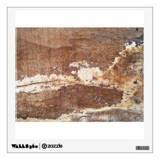 A Grunge Wooden Surface Wall Skins