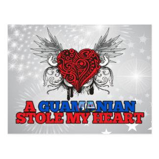 A Guamanian Stole my Heart Postcard