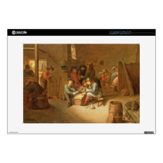 "A Guardroom Interior with Soldiers playing Cards ( 15"" Laptop Skins"