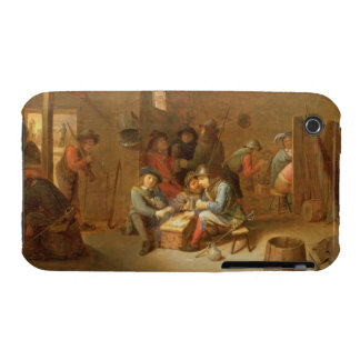 A Guardroom Interior with Soldiers playing Cards ( iPhone 3 Case-Mate Case