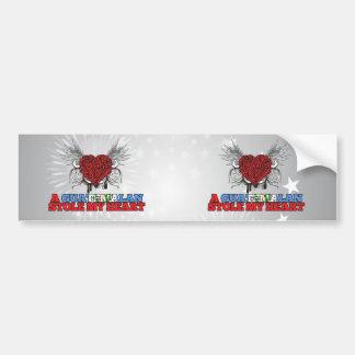 A Guatemalan Stole my Heart Bumper Sticker