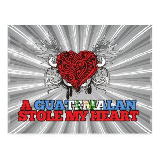 A Guatemalan Stole my Heart Postcard
