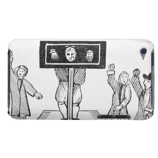 A Guilty Man in the Village Pillory, copy of a 16t Barely There iPod Case