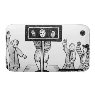 A Guilty Man in the Village Pillory, copy of a 16t iPhone 3 Case-Mate Case