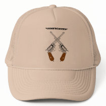 A GUN FIGHTER TRUCKER HAT