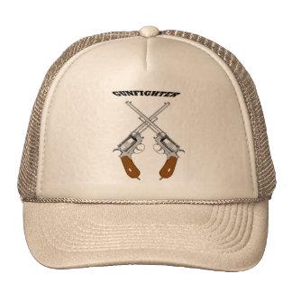 A GUN FIGHTER TRUCKER HAT